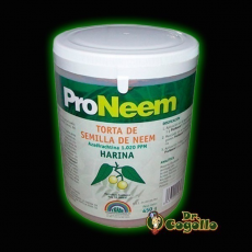 PRONEEM HARINA DE NEEM 450 GR. TRABE.