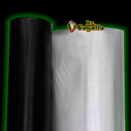PLASTICO REFLECTANTE DIAMOND/NEGRO (1x1.25M.)