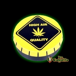 "CAJA CLICK-CLACK ""HIGH AIR QUALITY""."
