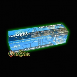 BOMBILLA PURE LIGHT CFL 125W GROW (6400K)