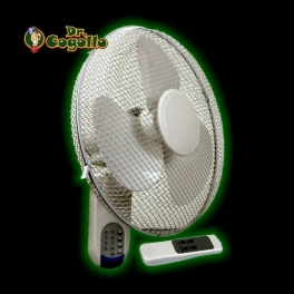 VENTILADOR PARED MANDO A DISTANCIA CORNWALL ELECTRONICS.