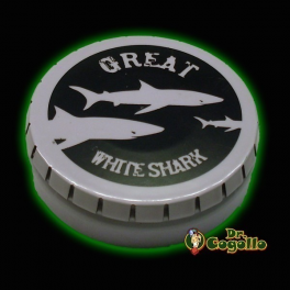 "CAJA GREENKLAKBOX ""GREAT WHITE SHARK""."
