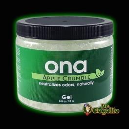 "ONA GEL 856 GR. ""APPLE CRUMBLE""."