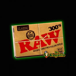 PAPEL RAW 300's CLASSIC 1.1/4