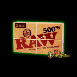 PAPEL RAW 500's CLASSIC 1.1/4