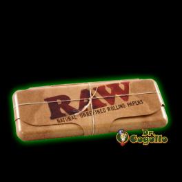 "CAJA METAL LIBRITO PAPEL ""RAW"" 1.1/4."