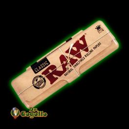 "CAJA METAL LIBRITO PAPEL ""RAW"" K.S."