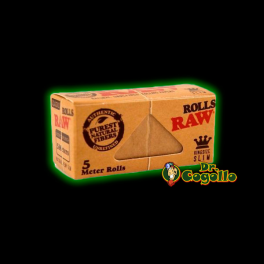PAPEL RAW ROLLS KING SIZE SLIM 5M.