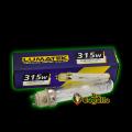 KIT CMH / LEC 315W LUMATEK (BALASTRO, LAMPARA, ADAPTADOR E-40)