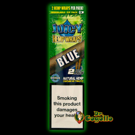 "BLUNTS JUICY HEMP WRAPS ""BLUE""."