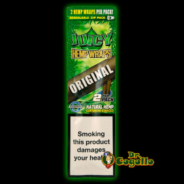 "BLUNTS JUICY HEMP WRAPS ""ORIGINAL""."