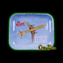 BANDEJA RAW MEDIANA. PREPARE FOR FLIGHT.