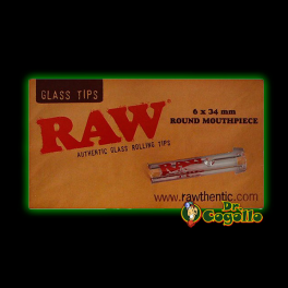 BOQUILLA CRISTAL RAW GLASS TIPS.