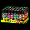 "ENCENDEDOR CLIPPER ""COLOURFUL SKULLS""."