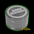GRINDER ALUMINIO 4 PARTES GREEN MACHINE 50MM - METAL OSCURO..