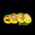 GRINDER ALUMINIO 4 PARTES SPYRAL 40MM - ORO