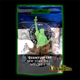 Flores NEW YORK CITY 16% CBD 1 GR. Quantum CBD.