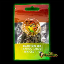 Flores MANGO TANGO 10% CBD 1 GR. Quantum CBD.