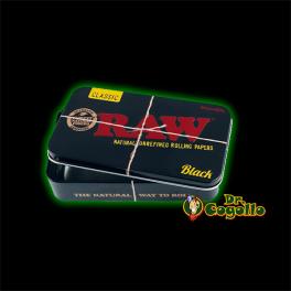 CAJA METAL RAW BLACK XL.