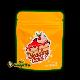 Flores CBD WEDDING-CAKE Gorilla Grillz.