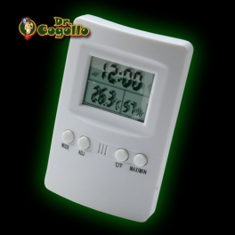 TERMOHIGROMETRO DIGITAL MAX-MIN Cornwall Electronics.